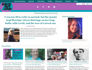 writeoutloud.net screenshot