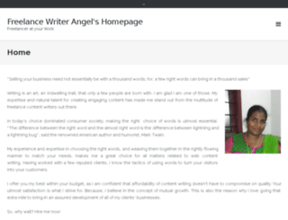 writerangel.com screenshot
