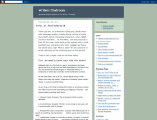 writerschatroom.blogspot.nl screenshot