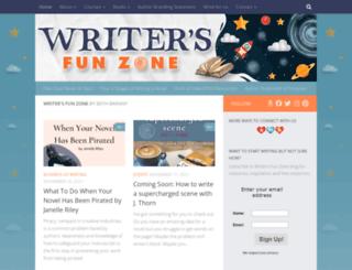 writersfunzone.com screenshot