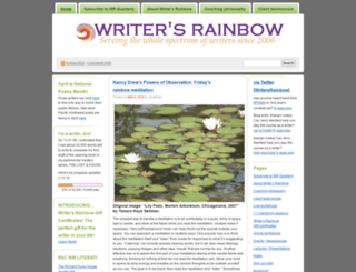 writersrainbow.wordpress.com screenshot