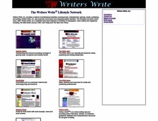 writerswriteinc.com screenshot