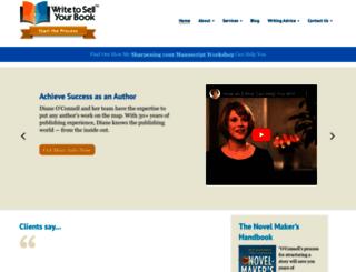 writetosellyourbook.com screenshot