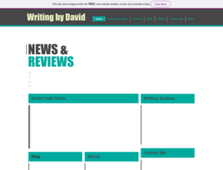 writingbydavid.com screenshot