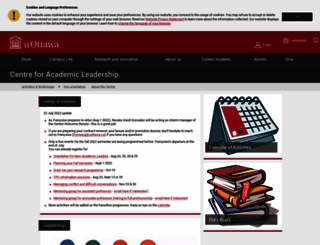 writingcentre.uottawa.ca screenshot