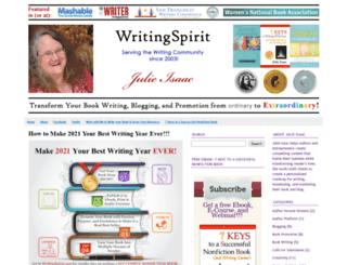 writingspirit.com screenshot