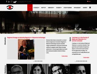 writv.us.edu.pl screenshot