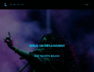 wrldent.com screenshot