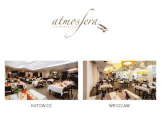 wroclaw.restauracja-atmosfera.pl screenshot