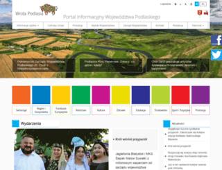 wrotapodlasia.pl screenshot