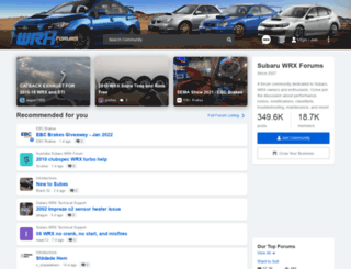 wrxforums.com screenshot