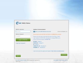 ws-a.parcelplatform.com screenshot