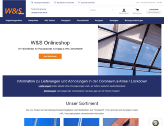 ws-onlineshop.de screenshot