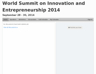 wsie2014.pathable.com screenshot