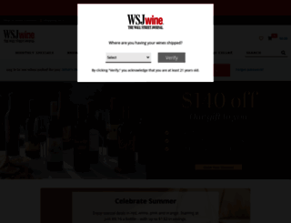 wsjwine.com screenshot