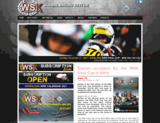wskarting.com screenshot