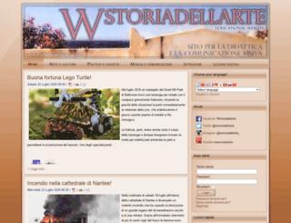 wstoriadellarte.eu screenshot