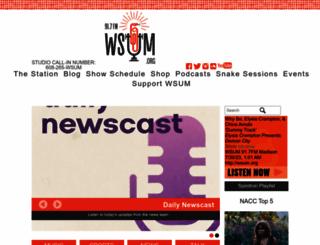 wsum.org screenshot