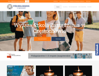 wsz.edu.pl screenshot