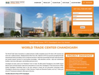 wtcchandigarh.org.in screenshot