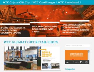 wtcgujaratgiftcity.com screenshot
