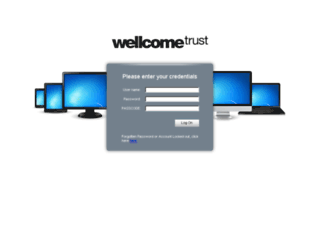 wtconnect.wellcome.ac.uk screenshot