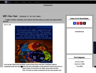 wtf-fun-facts.com screenshot