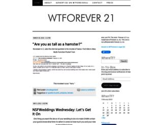 wtforever21.wordpress.com screenshot