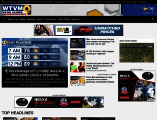 wtvm.com screenshot