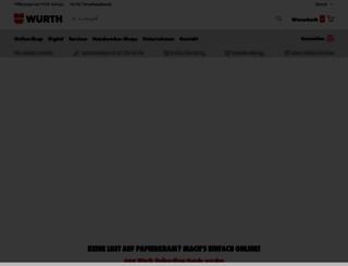wuerth-ag.ch screenshot