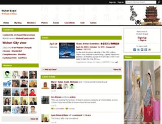 wuhanexpat.com screenshot