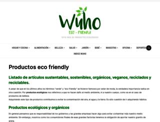 wuho.org screenshot