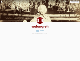 wulangreh.tumblr.com screenshot