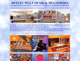 wulfmusic.de screenshot