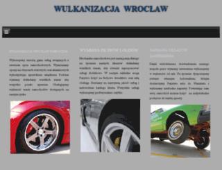 wulkanizacja-wroclaw.pl screenshot