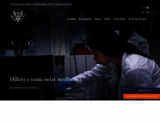 wum.edu.pl screenshot