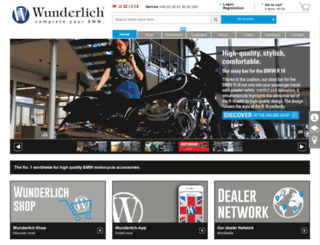 wunderlich-bmw.com screenshot