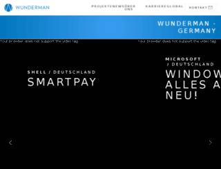 wunderman.de screenshot
