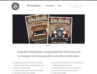 wunschblatt.de screenshot