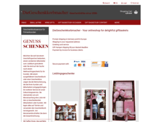 wunschkarton.de screenshot