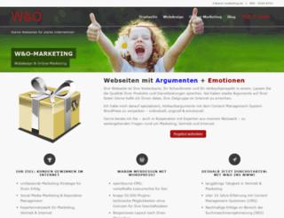 wuo-marketing.de screenshot