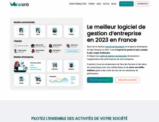 wuro.fr screenshot