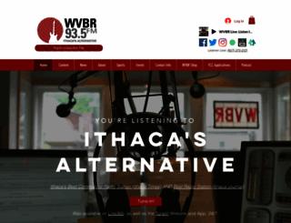 wvbr.com screenshot