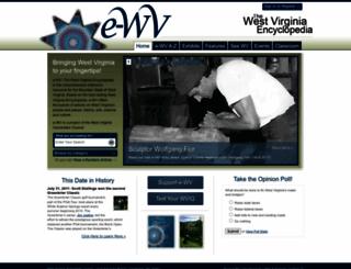 wvencyclopedia.org screenshot