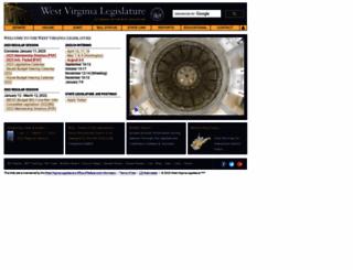 wvlegislature.gov screenshot