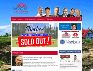 wvomfm.com screenshot