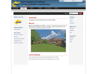 wvssac.arbitersports.com screenshot