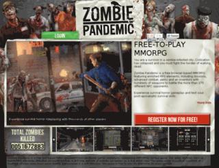 ww.zombiepandemic.com screenshot