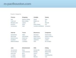 ww1.m-pacthouston.com screenshot