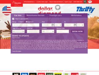 ww2.affordablecarhire.com screenshot